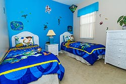 Toy Story twin bedroom